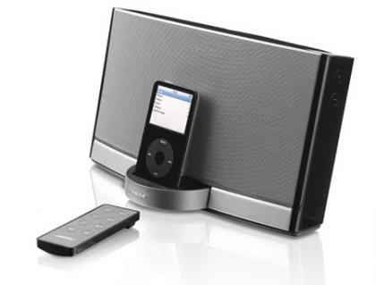 """Día del padre: Bose SoundDock Portable para padres """"iPodizados"""""""