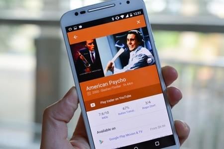 Google Search mejora la apariencia de los resultados al buscar películas