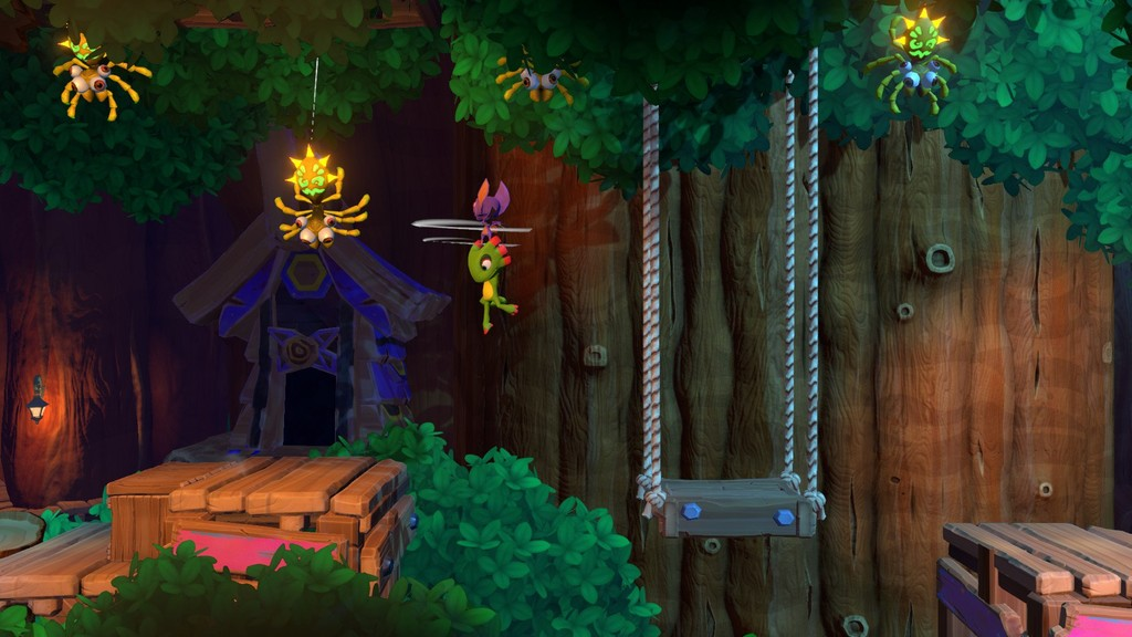 Yooka-Laylee and the Impossible Lair dispondrá de una demo que se habilitará en unos días en PC, PS4 y Nintendo Switch