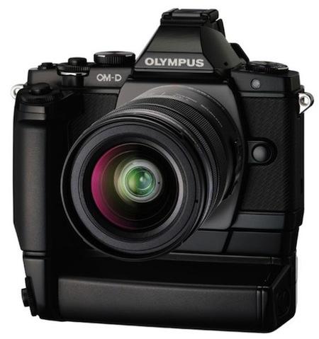 Olympus OM-D E-M5 grip