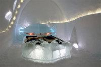 Cómo se construye el hotel de hielo