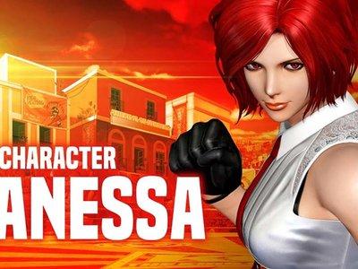 Una década después regresa Vanessa a The King of Fighters