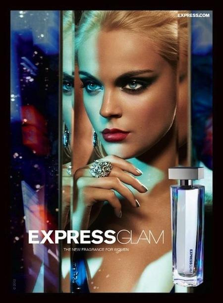Express glam, el nuevo perfume de Express