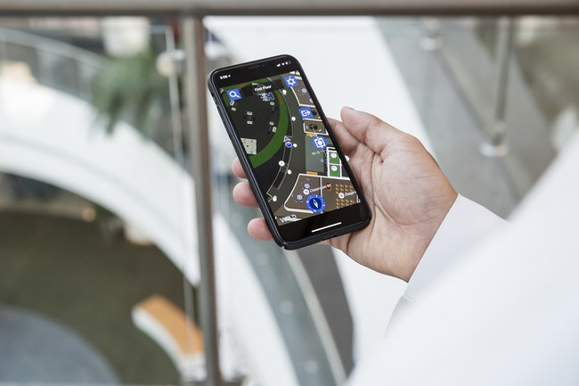 Philips Lighting Press Release Hbsmu Indoor Navigation App
