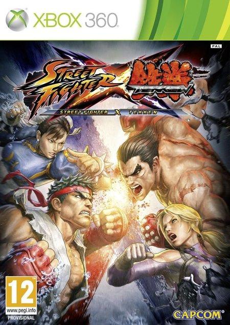 Street Fighter x Tekken - portada oficial