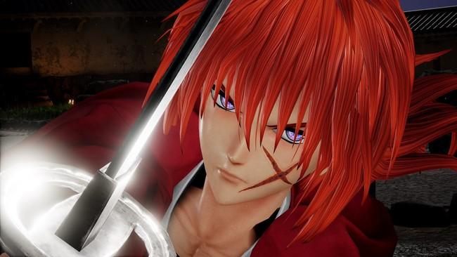 Kenshin y Shishio cruzan sus katanas en el nuevo gameplay oficial de JUMP Force