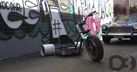 D3 Drift Trike: un triciclo eléctrico especialmente diseñado para derrapar