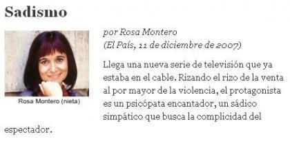 Del zapatero a tus zapatos al desliz de Rosa Montero