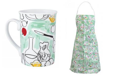 El arte de Cézanne en tu cocina. Taza y delantal