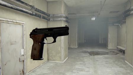 Uncharted 4 necesitaba ruidos de disparo en algunos niveles, así que pusieron pistolas voladoras disparando a una pared