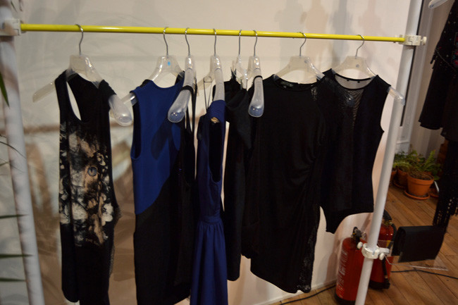 Azul Dressy Collection Bershka Primavera-Verano 2014