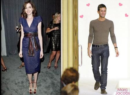 Anne Hathaway, ¿nueva imagen de Marc Jacobs?