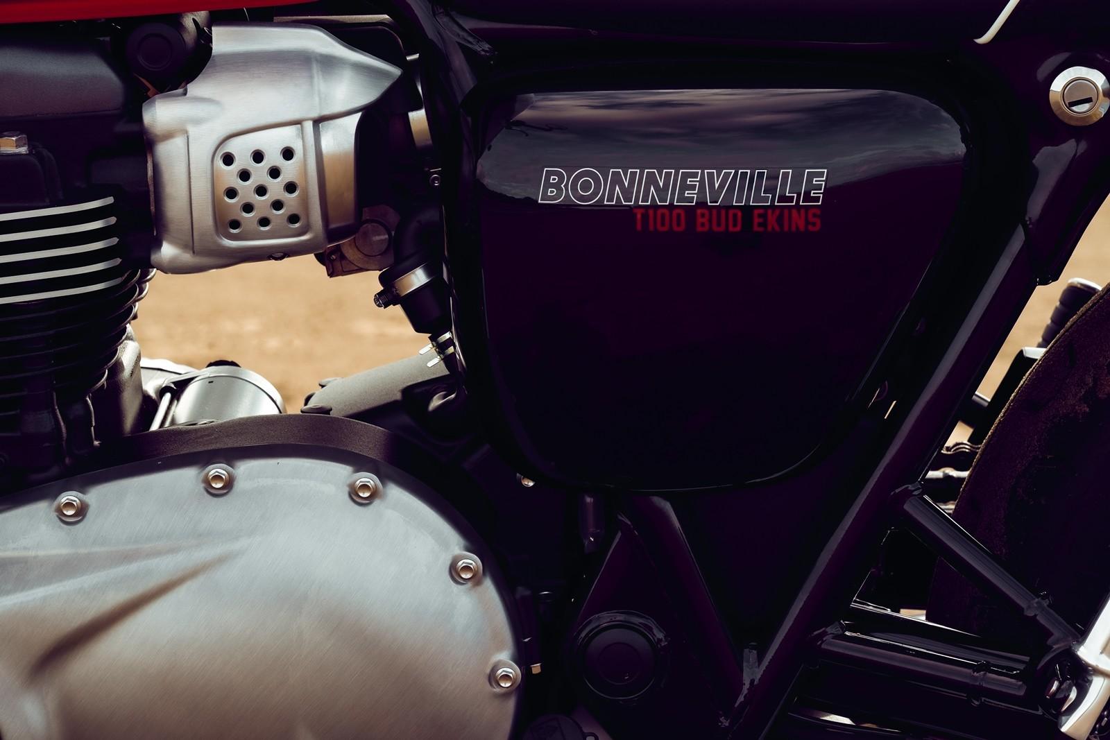 Foto de Triumph Bonneville T100 Bud Ekins 2020 (23/23)