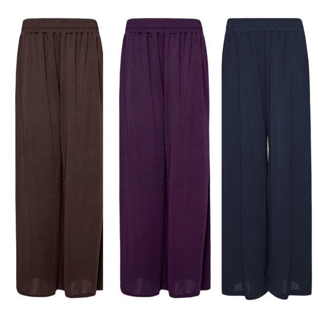 Pantalones palazzo