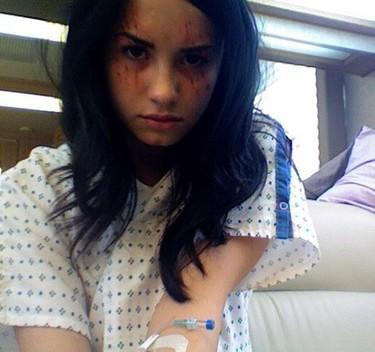 Demi Lovato, inquietante en 'Anatomía de Grey'