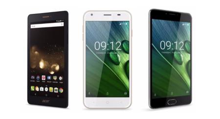 Iconia Talk S, Liquid Z6 y Liquid Z6 Plus, así son los nuevos smartphones de Acer