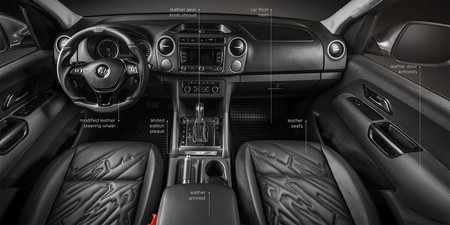 Vw Amarok Amy Interior Infographic En
