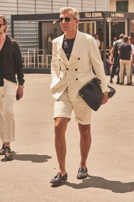 El Mejor Street Style De La Semana Combo Blazer Shors Bermudas Trendencias Hombre 12