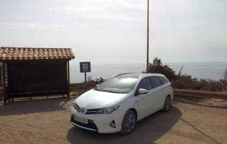 El Toyota Auris hybrid Touring Sports a prueba: Circulando por ciudad