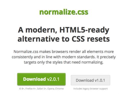 Resetea tus CSS a conciencia con normalize.css