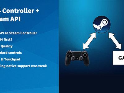 Steam dará soporte nativo al mando de control de PlayStation 4