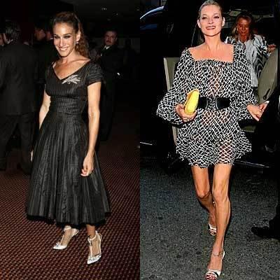 Sarah Jessica y Kate, los estilos más influyentes