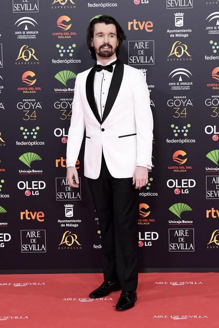 Sergio Alveru Goya Awards 2020 Trendencias Hombre