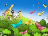 Clara y Luna y el Secreto de las Mariposas es un cuento para el iPad