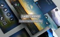 Sweet Video, el editor de vídeos más minimalista para iOS
