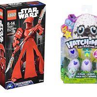 4 juguetes rebajados en Amazon de marcas como Lego, Hatchnimals o PJ Mask