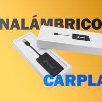 Carlinkit 2.0 lleva CarPlay inalámbrico a tu coche por 131,65 euros en Amazon, uno de sus precios más bajos