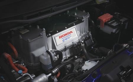 Motor eléctrico del Honda Fit EV (Honda Jazz eléctrico)
