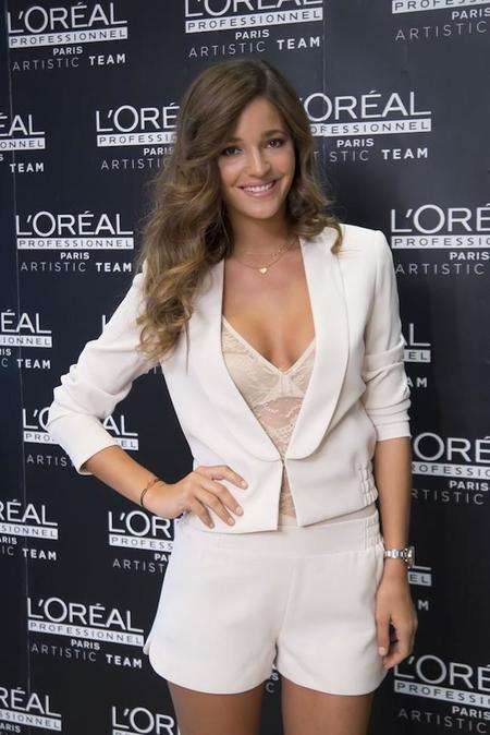 Malena Costa es la nueva imagen de L'Oréal Professionnel