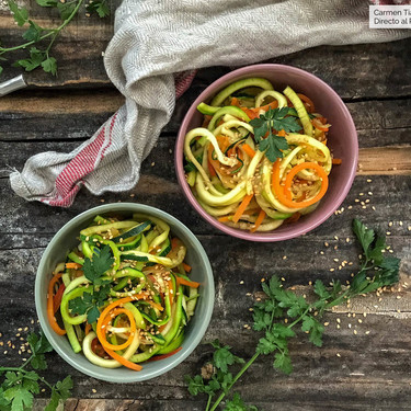 Siete tipos de espaguetis vegetales que puedes hacerte en casa para quitarte el antojo de pasta y comer sano y rico