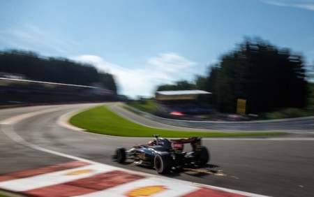 Romain Grosjean Spa Francorchamps 2015 F1