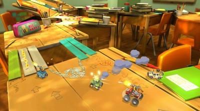 Si añoras los Micro Machines, no te pierdas el Toybox Turbos de Codemasters