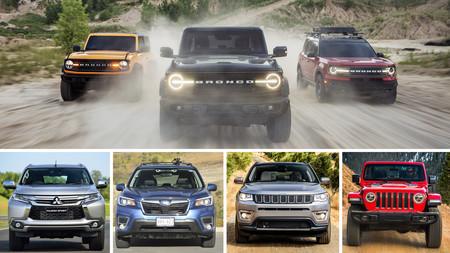 Los rivales más allá del Jeep Wrangler: contra estos modelos competirá la familia Ford Bronco 2021 en México
