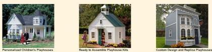 Jugar a las casitas con casitas de verdad: un lujo para tus niños en el jardín