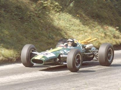 Jim Clark Montaña 1965 Lotus 38