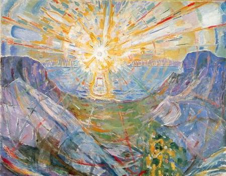 Sol de Edvard Munch