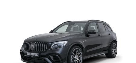 El Brabus 600 es la versión con esteroides del Mercedes-AMG GLC 65 S