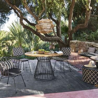 Rebajas en Maisons du Monde: alfombras, iluminación y muebles para decorar nuestra terraza o jardín sin gastar una fortuna