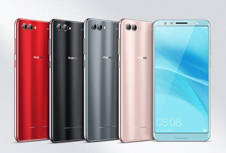 Huawei Nova 2S: una renovación con más pulgadas, cuatro cámaras y Android 8.0 Oreo