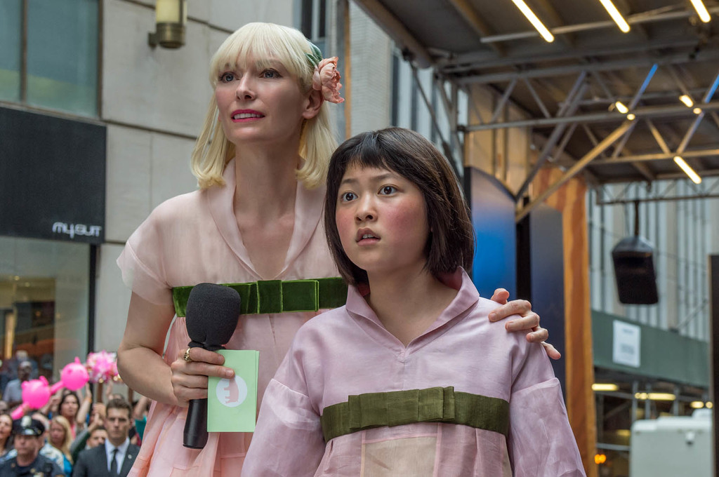 Okja Photo Seo Hyun Ahn Tilda Swinton 987401