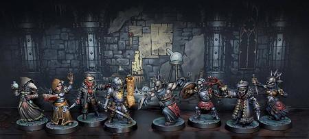 Este será el aspecto de las miniaturas del juego de mesa de Darkest Dungeon