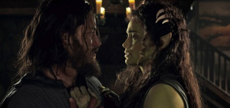Travis Fimmel y Paula Patton