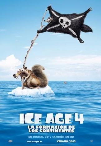 Hemos visto 'Ice Age 4: la formación de los continentes'