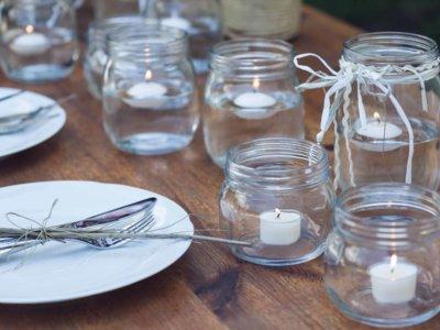 Mesas vestidas con magia, decora tu mesa con delicado cristal