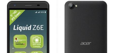Acer Liquid Z6E: Android Marshmallow para presupuestos reducidos