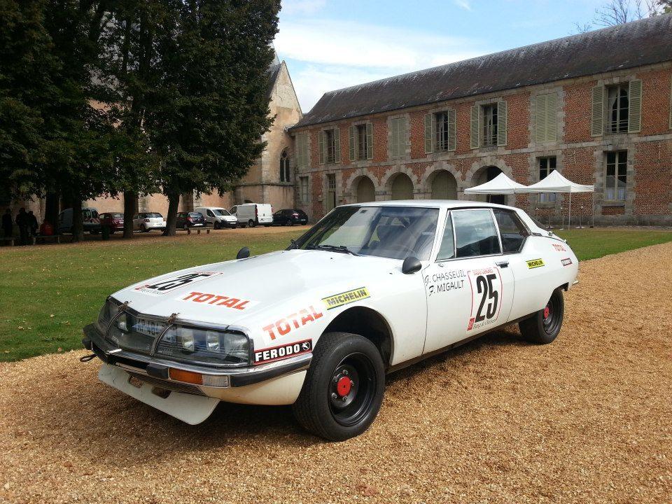 Foto de El Château de Maintenon se viste de gala con los mejores clásicos de Citroën (12/13)